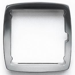 Stamps Full Metal Jack Rahmen Silver matt