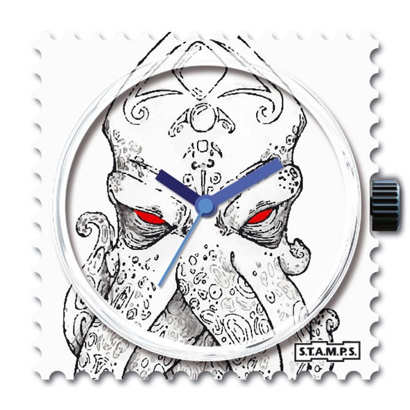 Stamps Water-Resistant Angry Octopus