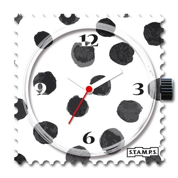 Stamps Uhr Black Art
