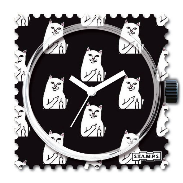 Stamps Uhr Cat You