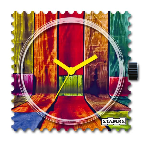 Stamps Colorful Walls