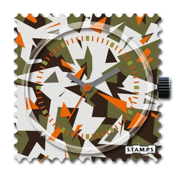 Stamps Uhr Water-Resistant Crash