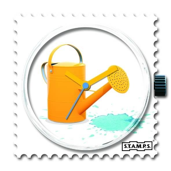 Stamps Blue Splash