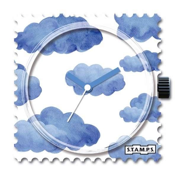 Stamps Blue Clouds