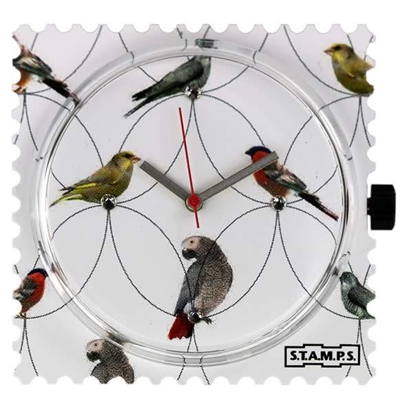 Stamps Uhr Diamond Birds