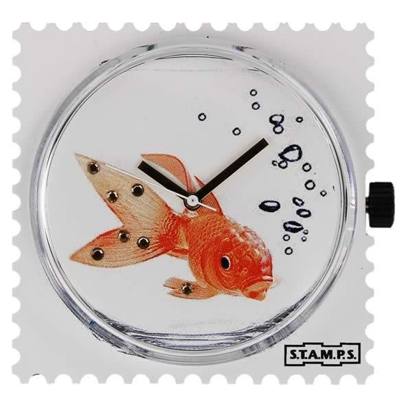 Stamps Uhr Diamond Goldfish