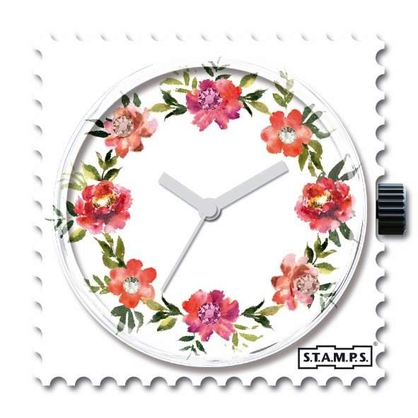 Stamps  Floral Diamond