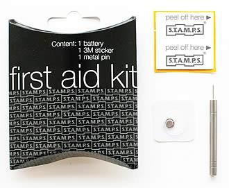 "Stamps Batterie Austausch-Set ""First Aid Kid"""