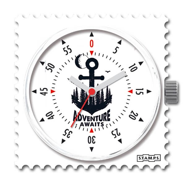 Stamps Uhr Water-Resistant Adventure Awaits