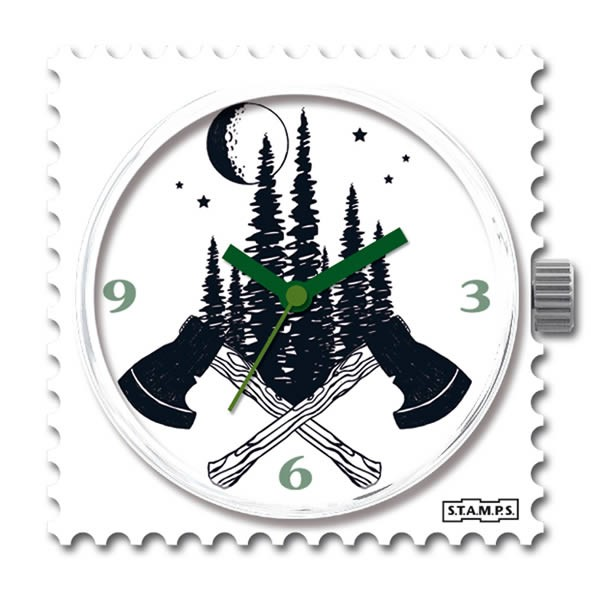 Stamps Uhr Water-Resistant In The Trees