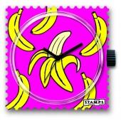 Stamps Uhr Banana