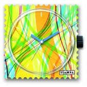 Stamps Uhr Colour Strings