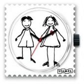 Stamps Uhrenmotiv Hänsel & Gretel
