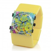 Stamps Armband Belta Yellow Pantone 101
