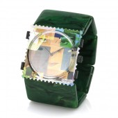 Stamps Armband Belta Pearl Dark Green