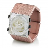 Stamps Armband Belta Structure Rose-Gold