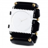 Stamps Armband Belta Bead Black Gold