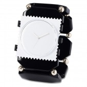 Stamps Armband Belta Bead Black Silver