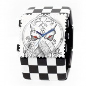 Stamps Armband Belta Black Squares