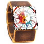 Stamps Armband Belta Indian Orange