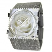 Stamps Armband Belta Structure Silver