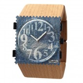 Stamps Armband Belta Wood Beige