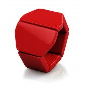 Stamps Armband Belta Y Red