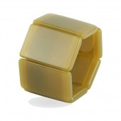 Stamps Armband Belta Creamy Dark Yellow