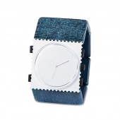 Stamps Armband Belta Structure Blue