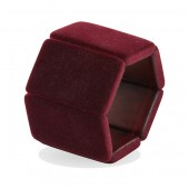 Stamps Armband Belta Velvet Bordeaux