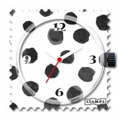 Stamps Uhr Black Art
