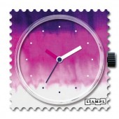 Stamps Uhr Block Batik