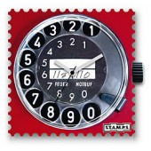 Stamps Uhrenmotiv Call Me
