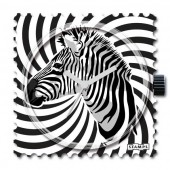 Stamps Uhr Crazy Zebra
