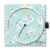 Stamps Uhr Dalmatian Love