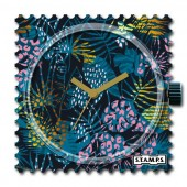 Stamps Flower Print