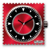 Stamps Uhr Water-Resistant Code Red