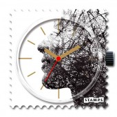 Stamps Uhr Water-Resistant Humen Vision