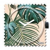 Stamps Uhr Pretty Leaves