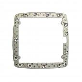 Full Metal Jack Rahmen - Diamond White