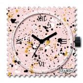 Stamps Uhr Splash in Pastel
