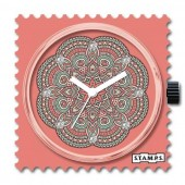 Stamps Uhr Mandala with Swarovski Crystals