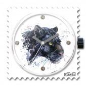 Stamps Panther, mit Swarovski Steinen