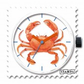 Stamps Uhr Crab