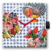 Stamps Uhr Allegory