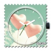 Stamps Uhr Balloons