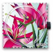 Stamps Blooming Flower