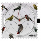 Stamps Uhr Diamond Birds