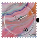 Stamps Uhr Diamond Pink Fire