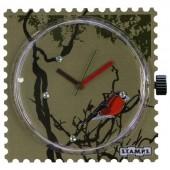 Stamps Diamond Robin, mit Swarovski Steinen